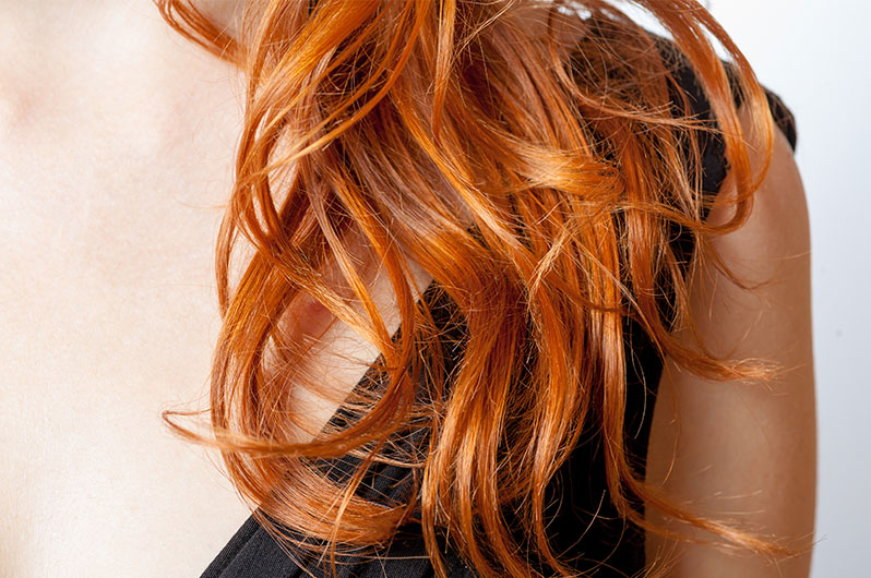 Red Union Salon Hair Coloring Service