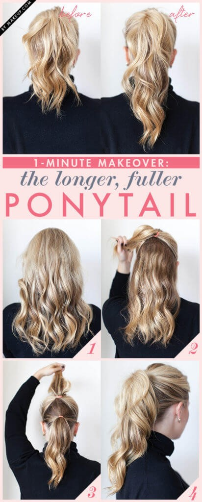 Longer Ponytail hairstyle